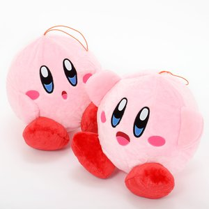 Kirby Fluffy Big Balloon Plush