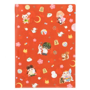 Stationery / Other Stationery / March Comes in like a Lion Chibi Character Clear File