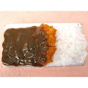 Nintendo DS Series Katsu Curry Food Sample Case