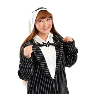 Otaku Apparel & Cosplay / Cosplay Outfits / Nightmare Before Christmas Jack Skellington Union Suit