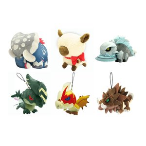 Monster Hunter Plush Set C