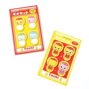 Stationery / Other Stationery / Fueki-kun Die-cut Sticky Memos