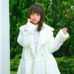 LIZ LISA Sailor Faux Fur Coat