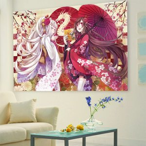Home & Kitchen / Home Decor / Karu Illustrated Curtains - 2012