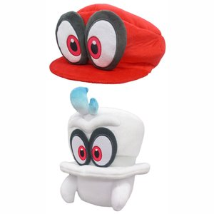Super Mario Odyssey Cappy Plush Collection