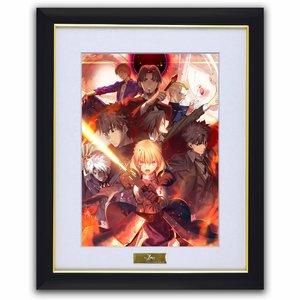 Fate/Zero Chara Fine Graph Art Print B: Red
