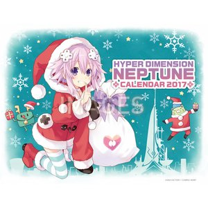 Art Prints / Calendars / Hyperdimension Neptunia 2017 Desktop Calendar