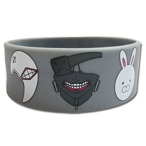 Otaku Apparel & Cosplay / Other Accessories / Tokyo Ghoul Ghoul Masks PVC Wristband