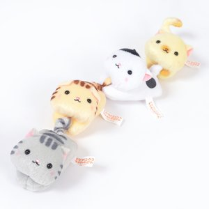Plushies / Plushie Accessories / Tobitsuku Nyanko Puchi Character Clothespins