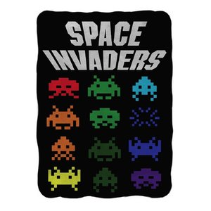 Home & Kitchen / Blankets / Space Invaders Blanket