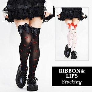 ACDC RAG Ribbon & Lips Stockings