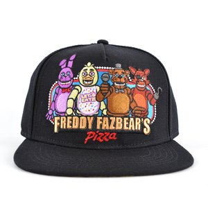 Five Nights at Freddy's Black Snapback