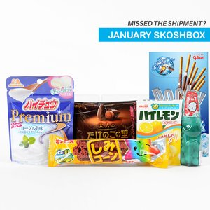 Home & Kitchen / Snacks / January 2017 Skoshbox