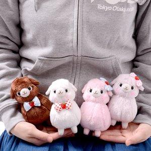 Alpacasso Kids Lovely Alpaca Plush Collection (Ball Chain)