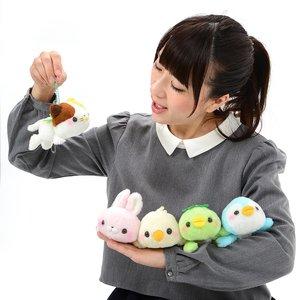 Daramofu-san Kappo to Issho Plush Collection (Ball Chain)