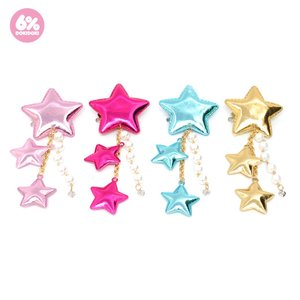 6%DOKIDOKI Shooting Star Clip & Brooch (Metallic)