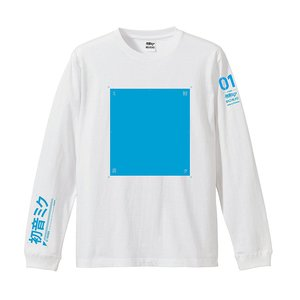 Otaku Apparel & Cosplay / Tops / Bighead 01 Friends feat. Hatsune Miku Long Sleeve T-Shirt /w Music Download Card