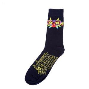 Nintendo Legend of Zelda: Majora's Mask Crew Socks
