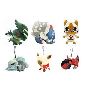 Plushies / Big Plushies / Medium Plushies / Small Plushies / Monster Hunter Plush Set B