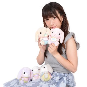 Pote Usa Loppy Baby Rabbit Plush Collection (Standard)