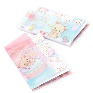 Stationery / Notebooks & Memo Pads / Rilakkuma Sweet Dream of Korilakkuma Index Memo Tabs
