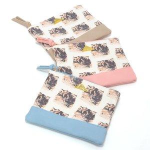 J-Fashion / Wallets & Pouches / FLAPPER Mofu Neko Flat Pouch