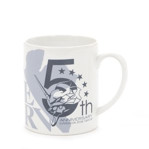 EVA STORE TOKYO-01 Original 5th Anniversary Logo Mug