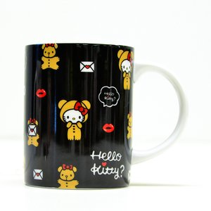 Home & Kitchen / Mugs & Glasses / Hello Kitty Holiday Collection Lip Bear Ceramic Mug