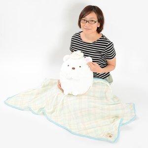 Home & Kitchen / Blankets / Sumikko Gurashi Plush Cushion Lap Blanket