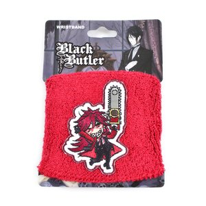 Otaku Apparel & Cosplay / Other Accessories / Black Butler SD Grell Wristband