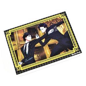 Stationery / Notebooks & Memo Pads / Black Butler 2 Sebastian & Claude Memo Pad
