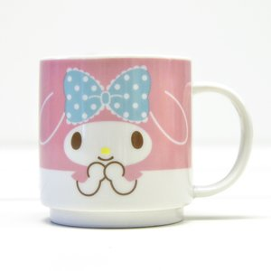 Home & Kitchen / Mugs & Glasses / My Melody Face Stacking Mug