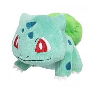 "Plushies / Medium Plushies / Pokémon 6"" Bulbasaur Plush"