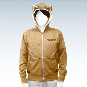 Otaku Apparel & Cosplay / Jackets & Hoodies / Monster Hunter Airou Full-Zip Hoodie