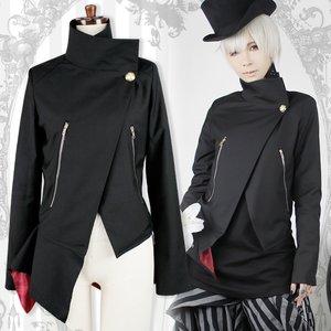 J-Fashion / Cardigans & Hoodies / Black MiQuri Vampire Jacket