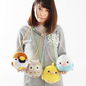 Plushies / Plushie Accessories / Kotori Tai Bird Plush Pochettes