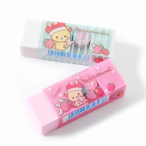 Stationery / Pens & Writing Supplies / Minna Ichigo ni Naare Korilakkuma Eraser
