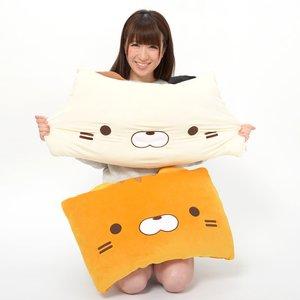 Sasurai no Tabineco Marshmallow Square Cushions