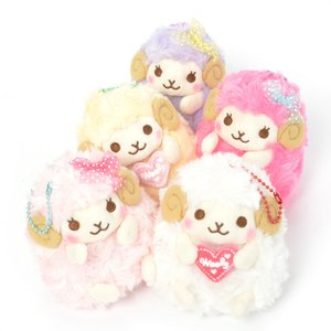 Plushies / Small Plushies / Heartful Girly Wooly Sheep Plush Collection (Ball Chain)