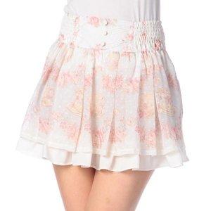 LIZ LISA Tea & Flower Sukapan Skirt