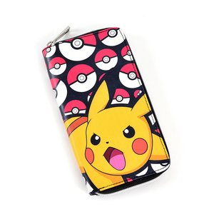 Otaku Apparel & Cosplay / Bags & Wallets / Pokémon Pikachu Zip-Around Wallet