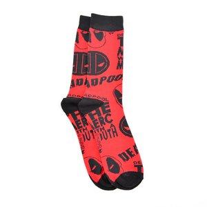 Marvel Deadpool All-Over Print Crew Socks