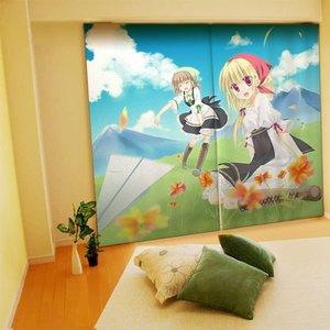 Home & Kitchen / Home Decor / Sesena Yau Illustrated Curtains