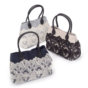 J-Fashion / Bags & Purses / FLAPPER Classical Lace Tote