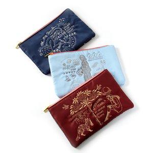 J-Fashion / Wallets & Pouches / Eleu Nani Lapule All My Time Embroidered Multi-Use Pouch