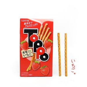 Home & Kitchen / Snacks / Toppo: Strawberry Sticks