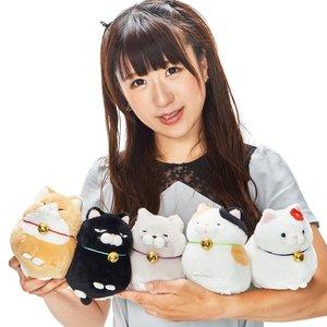 Hige Manjyu Bell Cat Plush Collection (Standard)