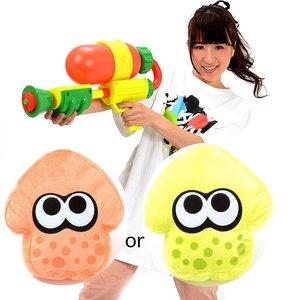 Toys & Knick-Knacks / Gadgets / Home & Kitchen / Cushions / Splatoon Splattershot Water Gun w/ Bonus Splatoon Cushion
