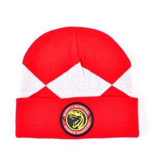 Otaku Apparel & Cosplay / Hats & Caps / Power Rangers Red Suit Up Beanie