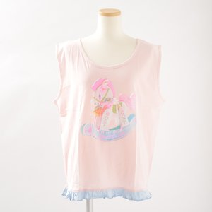 milklim Rocking Horse Frilly Tank Top